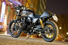 """Really starting to see the potential the CB1100 has to be formed into a """"Cafe Racer"""" bike."""