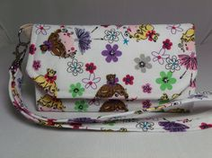Cell Phone Wallet Dolly's by GusandBeckys on Etsy