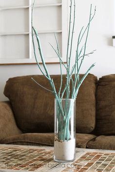 how to create a branch centerpiece