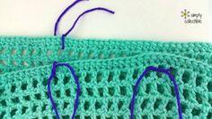 Crochet Tunic Pattern Crochet Tunic Pattern or Cover-up? Crochet Tunic Pattern, Crochet Poncho, Crochet Motif, Crochet Patterns, Crochet Edgings, All Free Crochet, Easy Crochet, Crochet Tops, Broomstick Lace