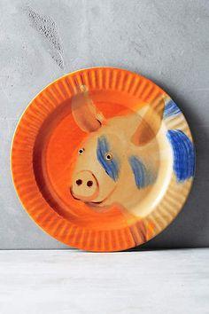 The Farm Dessert Plate - anthropologie.com
