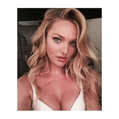 Candice Swanepoel's Selfie Tips ❤ liked on Polyvore featuring candice