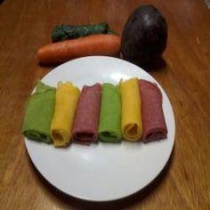 Panquecas Coloridas Veganas