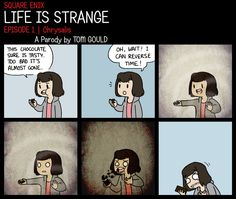 LIFE IS STRANGE | It Tastes Better the Second Time by TheGouldenWay on deviantart