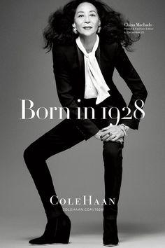 China Machado Model 83 year old Givenchy Avedon Muse (Vogue.com UK)