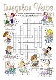 Irregular Verbs Worksheet Irregular verbs