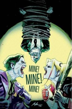 The Joker and Harley Quinn by Rafael Albuquerque *