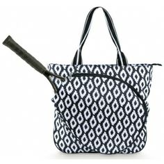 All For Color Uptown Charm Tennis Tote Bag