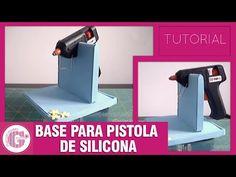 Foami: Tutorial Base para pistola de silicona - YouTube
