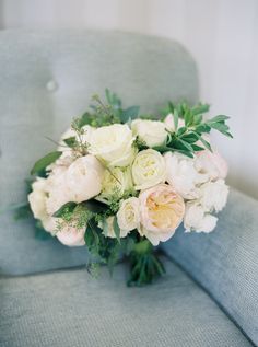Peony, ranunculus and rose wedding bouquet: Photography : Kate Ignatowski Photography Read More on SMP: http://www.stylemepretty.com/2016/11/16/classic-d-c-wedding-just-blocks-from-the-white-house/