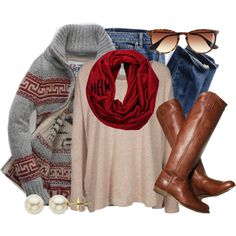"""""""Fall Favorites"""" by qtpiekelso on Polyvore"""