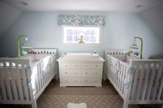 Readers' Favorite: Twin Boys Traditional Nursery For the love of god I hope not.... but just in case
