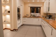 Kitchen Cabinets, Interior Design, Table, Furniture, Home Decor, Kitchen Cupboards, Design Interiors, Homemade Home Decor, Home Interior Design