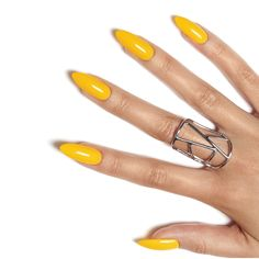 Make a statement in Banana Clips yellow from the CND New Wave collection.