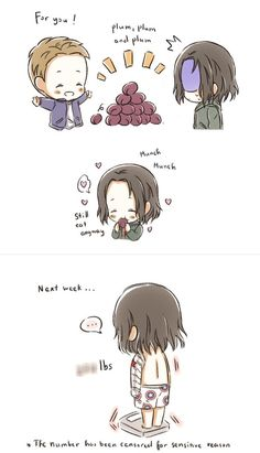 Bucky ate too many plums! Baby Marvel, Chibi Marvel, Baby Avengers, Marvel Art, Marvel Comics, Avengers Cartoon, Avengers Memes, Marvel Memes, Marvel Avengers