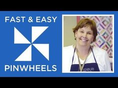 Video Tutorial: Fast and Easy Pinwheels | FaveQuilts.com