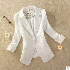 Cheap jacket sailing, Buy Quality jackets for young men directly from China jacket car Suppliers:  Casacos Femininos Woman Clothes Coat 2015 New Candy-colored Stitching Lace Slim Temperament Fashion Jacket S-XXL