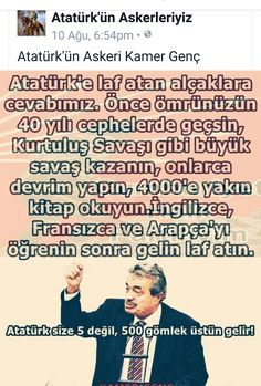 Atam'in sictigi b*k bile olamazlar. Great Leaders, Thing 1, Homeland, Karma, Presidents, Education, Feelings, Sayings, Words