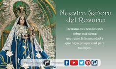 La Virgen del Rosario es la Santa Patrona de Guatemala. En este enlace encuentra información sobre la devoción al Rosario.