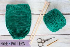 Free Knitting Pattern: Diaper Cover