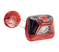 Simple and ultra-compact, the Petzl ZIPKA headlamp offers 200 lumen brightness and a wide beam. Its self-adjusting retractable cord, a Petzl patent, makes it extremely compact, and offers several possibilities for wearing or mounting. Police Flashlights, Tent Poles, Commuter Bike, Bike Frame, Compact, Camping, Red, Daily Activities, Outdoor Activities