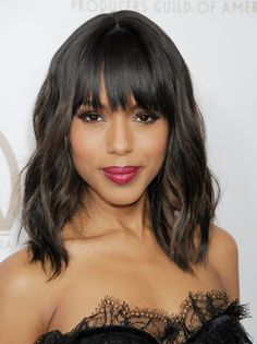 60 Trendy Bangs For All Face Shapes and Hair Textures
