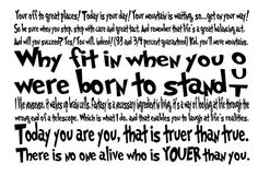 I love Dr. Suess quotes.