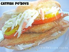 Catfish Po'Boys - A Turtle's Life for Me
