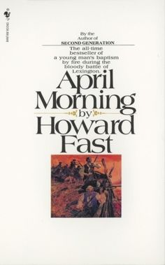 When you read this novel about April 19, 1775, you will see the British redcoats marching in a solid column through your town. Your hands will be sweating and you will shake a little as you grip your musket because never have you shot with the aim of killing a man. But you will shoot, and shoot again and again ...and you begin to shout at the top of your lungs because you are there, at the birth of freedom...