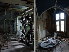 Chateau de Noisy is an abandoned building in Belgium, previously called Chateau Miranda and reportedly used by Nazis during the Second World War, closed in 1991