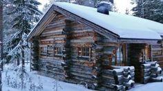 Nordic Adventures log cabin at Kemijärvi Civilization, Cabins, Hunting, Bird, Adventure, House Styles, Home Decor, Decoration Home, Room Decor