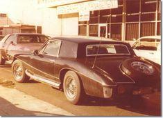 Elvis' 1971 Stutz Blackhawk production model