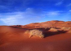 the desert of Maroc