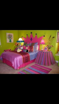 Girls room how cute is this?!?