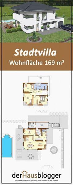 Diese stadtvilla hat auf 169m² wohnfläche ohne keller viele merkmale die heute bei einem modernen hausentwurf gewünscht werden... E z. B. Einen offenen koch-/wohnbereich und eine geradläufige treppe. Erwerben sie hier die interaktive 3d-planungsgrundlage. Äne. Luxury Apartments, Rental Apartments, Living Area, Living Spaces, Small Living, Open Plan Kitchen, Architect Design, Kitchen Living, Modern House Design