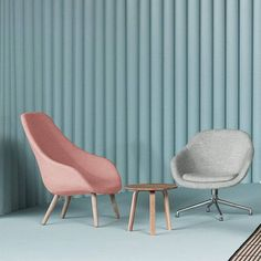 HAY About a lounge stoel - Roze - Nordic Living