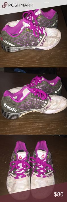 REEBOK CROSSFIT 5.0 weightlifting shoes In great condition!! These have been worn some but still in excellent shape! Some normal wear on the front but can be cleaned to make look brand new! Overall excellent used condition! Reebok Shoes Athletic Shoes