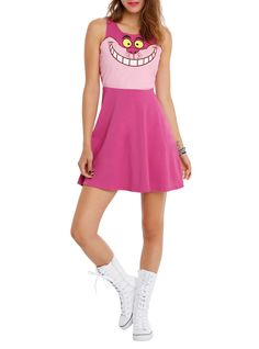 New Cheshire Cat Dress from Hot Topic (I usually don't like the cheap dresses here, but I'd wear this one! - with a corset. :D)
