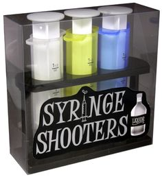 Syringe Shooters...truth syrum!