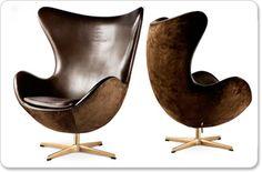 Tory Fitzgibbon. Jacobsen chair. Mid-century modern furniture