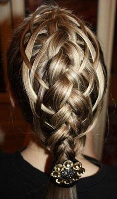 awesome braid hairstyle