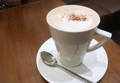 Traditional Hot Chocolate from Chococrepe - Made with melted Valrhona Chocolate