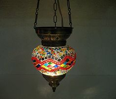 one of a kind moroccan lantern mosaic hanging lamp glass chandelier light lampen candle lamp tealight holder lampada turca lampada turco candle holder Mosaiklampe Türkische lampen hng 65 handmade_antiques http://www.amazon.com/dp/B01EE1UPB4/ref=cm_sw_r_pi_dp_oS6exb07ZCJEZ