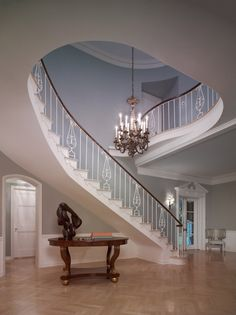 Paul Revere Williams signature staircase...  Amazing.  This architect's life is quite a story.
