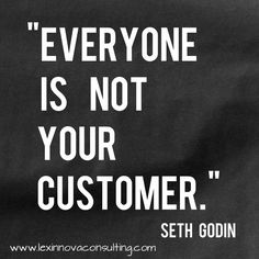 True. Share if you agree. #sethgodin #quotes #customer #marketing #sales