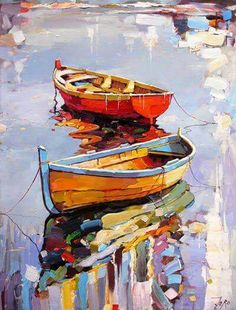 By Sergey Dorokhov Painting with acrylic