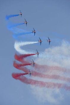 Patrouille de France © Dassault Aviation - S. Randé
