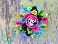 Beary cute Panda  Loopy flower Boutique by ElliesHappinessBows