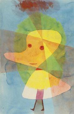 パウル・クレー 『小さな庭幽霊』 (1929) Paul Klee - kleiner Gartengeist #青騎士 #バウハウス #シュールレアリスム