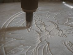 Marmor fräsen cnc gravieren marble milling engraving